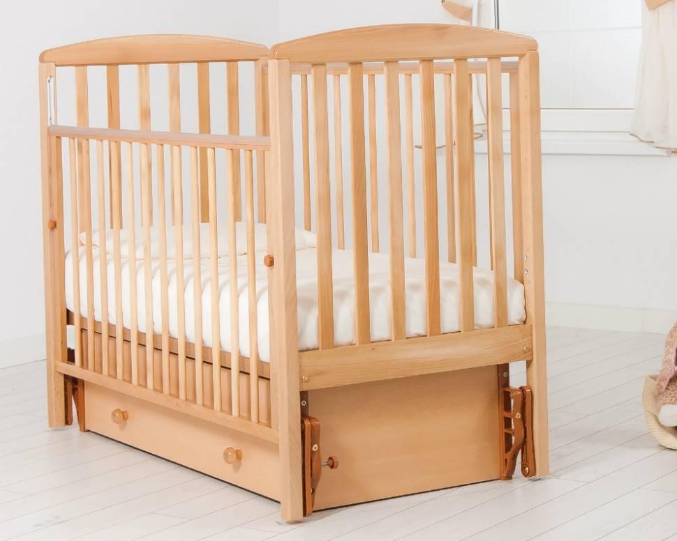 Кроватки маятники для новорожденных недорого