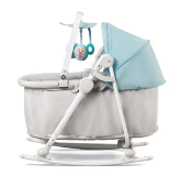 Колыбель-шезлонг 5 в 1 KinderKraft Cradle Unimo light blue